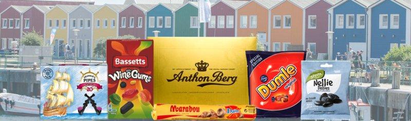 Skandinavische Süßigkeiten
